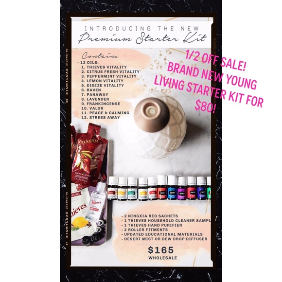 BRAND NEW Young Living PREMIUM Starter Kit NWT